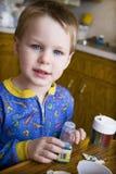 Decorazione dei biscotti Fotografie Stock