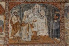 Decorazione del convento Immagine Stock Libera da Diritti