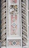 Decorazione del duomo a Firenze, Italia Fotografie Stock Libere da Diritti