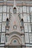 Decorazione del duomo a Firenze, Italia Fotografia Stock