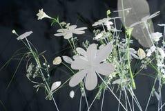Decorazione del fiore bianco Fotografia Stock Libera da Diritti