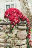 Decorazione del fiore di nozze Fotografia Stock