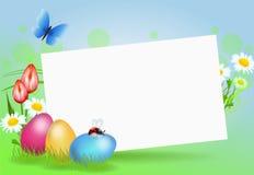 Decorazione del fondo di Pasqua illustrazione vettoriale