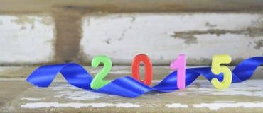 Decorazione 2015 del nuovo anno Fotografie Stock Libere da Diritti