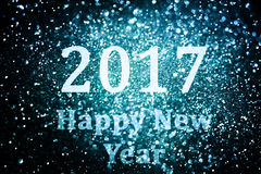 Decorazione del nuovo anno, primo piano sugli ambiti di provenienza dorati Fotografia Stock Libera da Diritti