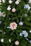 Decorazione dell'albero di Christmass Fotografia Stock Libera da Diritti