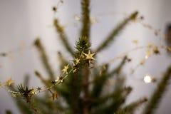 Decorazione dell'albero di Natale Fotografie Stock