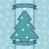Decorazione dell'albero di Natale Immagine Stock