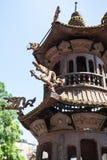 Decorazione dell'altare in tempio di Guangxiao in Canton Fotografie Stock Libere da Diritti