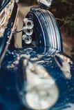 Decorazione dell'automobile di nozze Immagine Stock