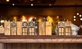 Decorazione dell'interno del ristorante Immagini Stock