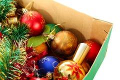 decorazione dell'Natale-albero fotografia stock