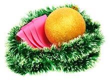 decorazione dell'Natale-albero Immagini Stock