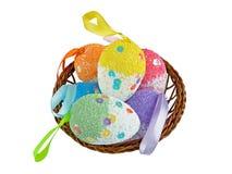 Decorazione dell'uovo di Pasqua Immagine Stock