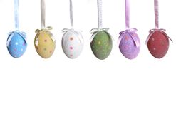 Decorazione dell'uovo di Pasqua Fotografia Stock