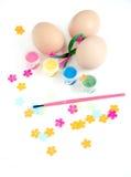 Decorazione dell'uovo di Pasqua Fotografia Stock Libera da Diritti