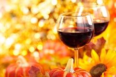 Decorazione della cena di ringraziamento Fotografie Stock