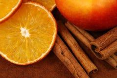 Decorazione della frutta Fotografia Stock Libera da Diritti