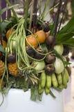 Decorazione della frutta Immagine Stock