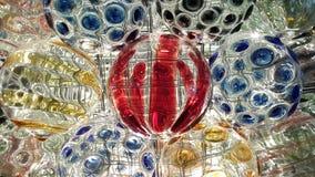 Decorazione della palla di vetro di Natale Fotografia Stock Libera da Diritti
