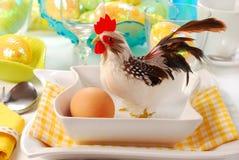 Decorazione della tabella di Pasqua fotografia stock libera da diritti