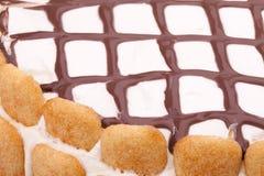 Decorazione della torta Immagini Stock Libere da Diritti