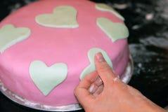 Decorazione della torta Fotografia Stock Libera da Diritti
