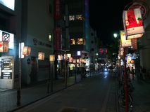 Decorazione della via di festival di lanterna Fotografia Stock