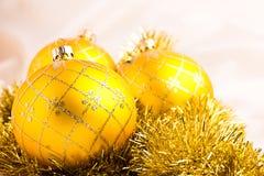 Decorazione delle bagattelle di Natale Immagine Stock Libera da Diritti
