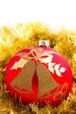 Decorazione delle bagattelle di Natale Fotografia Stock Libera da Diritti