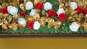 Decorazione delle rose Fotografia Stock Libera da Diritti