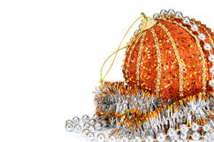 Decorazione delle sfere per il nuovo anno ed il natale Immagine Stock