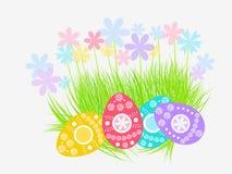 Decorazione delle uova di Pasqua Immagine Stock Libera da Diritti