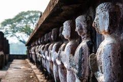 Decorazione dello stucco a Wat Mahathat Fotografia Stock Libera da Diritti