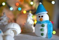 Decorazione dello zucchero di Natale Fotografia Stock Libera da Diritti