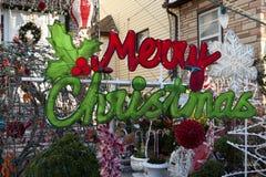 Decorazione di Buon Natale Fotografia Stock Libera da Diritti