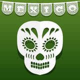 Decorazione di carta messicana Immagine Stock Libera da Diritti