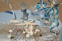Decorazione di cerimonia nuziale Fotografia Stock Libera da Diritti