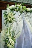 Decorazione di cerimonia nuziale fotografie stock