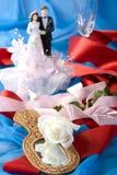 Decorazione di cerimonia nuziale Immagini Stock Libere da Diritti