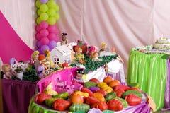 Decorazione di compleanno Fotografie Stock