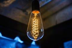 Decorazione di illuminazione di lampadina Fotografia Stock