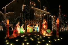 Decorazione di Jesus.Christmas. Immagini Stock