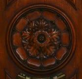 Decorazione di legno (modello astratto della natura) Immagini Stock