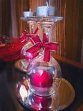 Decorazione di Natale, candele Immagine Stock Libera da Diritti
