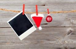 Decorazione di Natale con le canne di natale Fotografie Stock