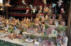 Decorazione di Natale da ceramico Fotografia Stock