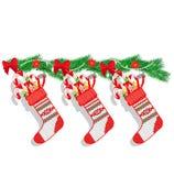 Decorazione di Natale dei dolci Illustrazione di Stock