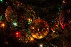 Decorazione di Natale del periodo sovietico Fotografia Stock Libera da Diritti