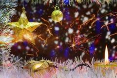 Decorazione di Natale e del nuovo anno immagini stock